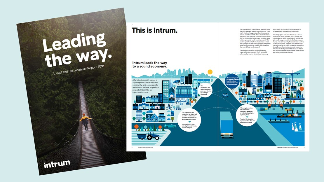 Intrum presents Annual and Sustainability Report for 2018